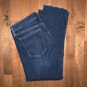 Banana Republic slim straight  jeans size 28P